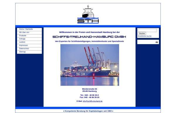 Vorschau von www.schiffs-treuhand.de, Schiffs-Treuhand-Hamburg GmbH