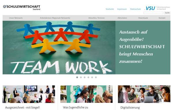 Vorschau von www.schulewirtschaftsaarland.de, Schule-Wirtschaft