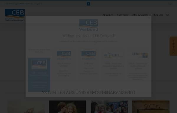 Vorschau von www.ceb-merzig.de, CEB Christliche Erwachsenenbildung Akademie