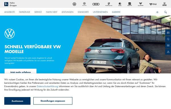 Vorschau von www.hahn-automobile.de, Autohaus Hahn