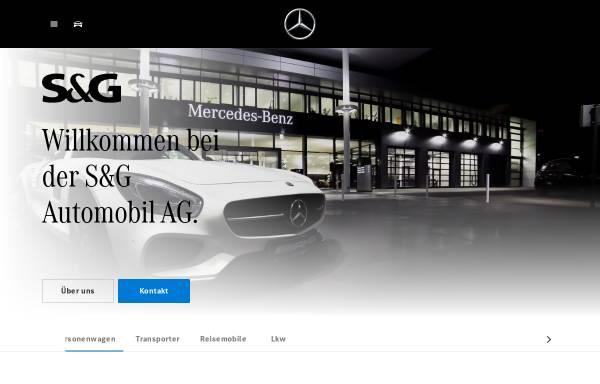 Vorschau von www.mercedes-benz-sug.de, S&G Automobil Aktiengesellschaft