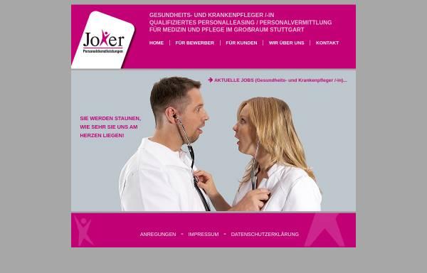 Vorschau von www.joker-personal.de, Joker Personaldienstleistungen GmbH