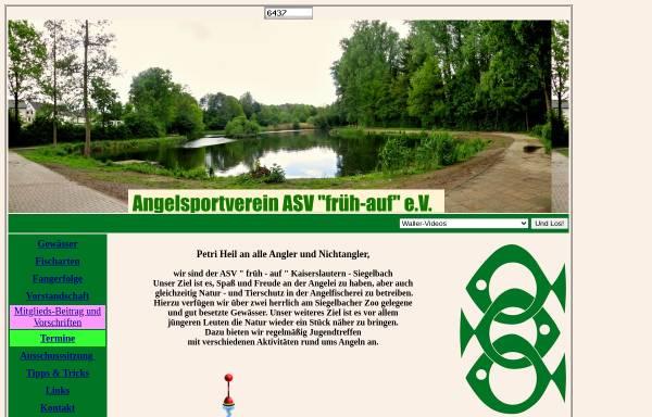 Vorschau von www.asvsiegelbach.de, Angelsportverein Kaiserslautern - Siegelbach e.V.