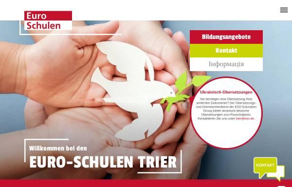 Vorschau von www.euroschulen-trier.de, Euro-Schulen Trier