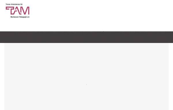 Vorschau von www.montessori-trier.de, Trierer Arbeitskreis für Montessori-Pädagogik e.V.