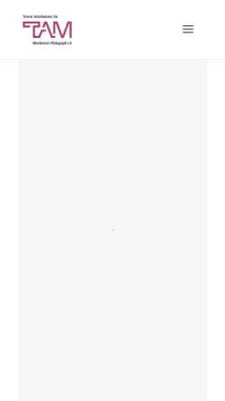 Vorschau der mobilen Webseite www.montessori-trier.de, Trierer Arbeitskreis für Montessori-Pädagogik e.V.