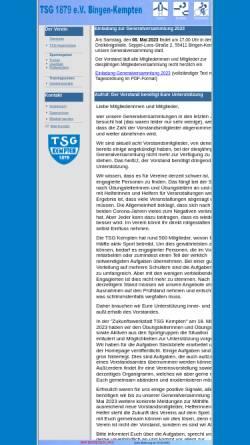 Vorschau der mobilen Webseite www.tsg-kempten.de, TSG 1879