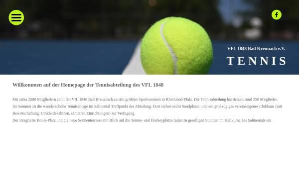 Vorschau von www.vflbadkreuznach-tennis.de, Tennis im VFL 1848 Bad Kreuznach e.V.