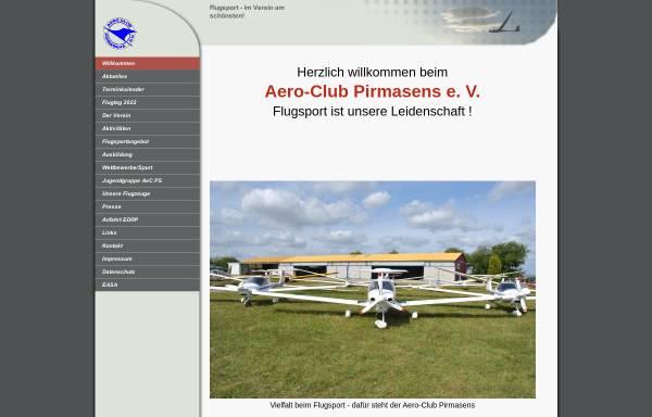Vorschau von www.aero-club-pirmasens.de, Aero Club Pirmasens