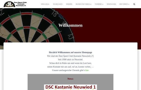 Vorschau von www.dsc-kastanie.de, Dart Sport Club Kastanie Neuwied e.V.