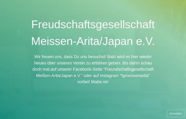 Vorschau von www.meissen-arita.de, Freundschaftsgesellschaft Meißen-Arita/Japan e.V.