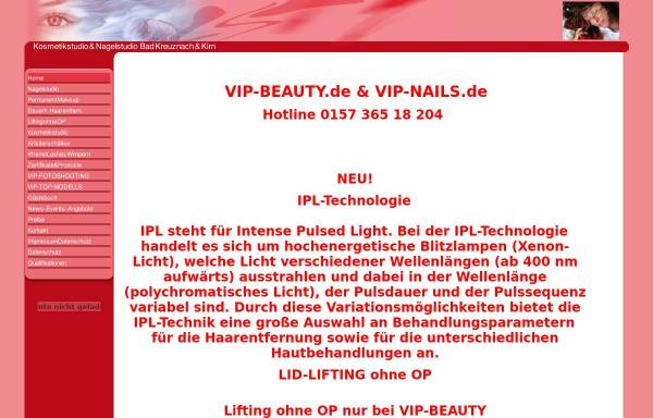 Vorschau von www.vip-beauty.de, Nagelstudio Nail Design