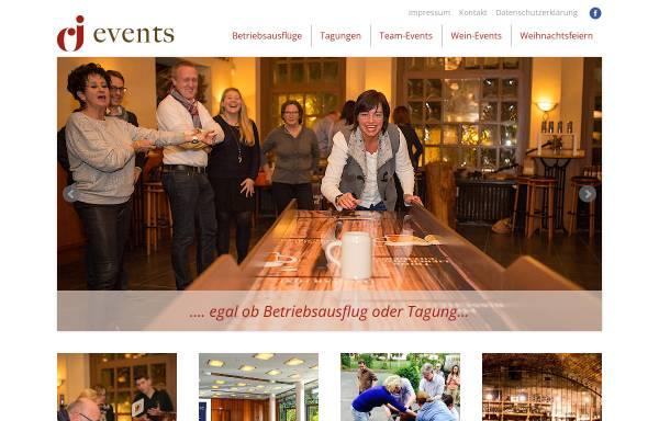 Vorschau von www.cj-events.de, CJ-Events