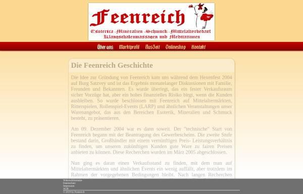 Vorschau von www.feenreich.info, Feenreich
