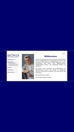 Vorschau der mobilen Webseite www.kronser.de, Kronser Schmuck und Uhren