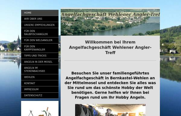 Vorschau von www.wehlener-angler-treff.de, Wehlener Angler-Treff