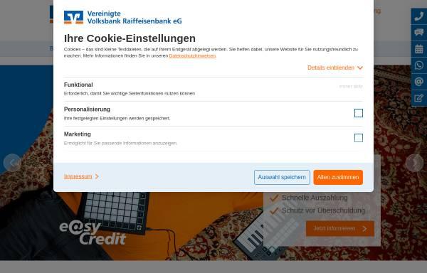 Vorschau von www.vr-bank-naheland.de, Volksbank Hunsrück-Nahe eG