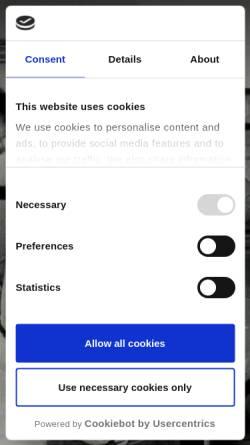 Vorschau der mobilen Webseite www.frey-kandel.de, Frey Küchenzentrum-Innenausbau GmbH