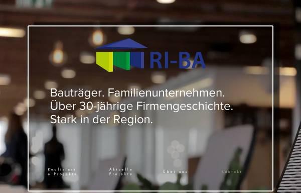 Vorschau von www.riba-gmbh.de, RI-BA Bauträger und Handelsgesellschaft mbH & Co. Grundstücks KG