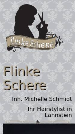 Vorschau der mobilen Webseite flinkeschere.com, Flinke Schere