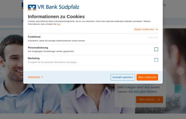 Vorschau von www.vrbank-suedpfalz.de, VR Bank Südpfalz e.G.