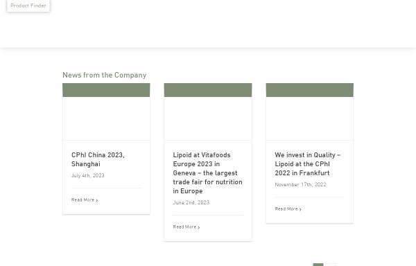 Vorschau von www.lipoid.com, Lipoid GmbH