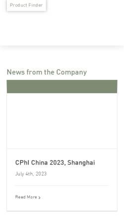Vorschau der mobilen Webseite www.lipoid.com, Lipoid GmbH