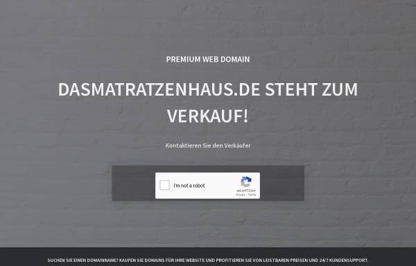 Vorschau von www.dasmatratzenhaus.de, Das Matratzenhaus