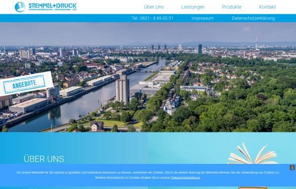 Vorschau von www.schnellestempel.de, Stempel + Druck