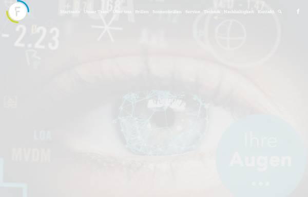 Vorschau von www.flach-augenoptik.de, Flach Augenoptik