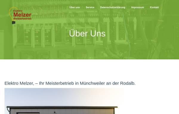 Vorschau von www.elektro-melzer.de, Elektro Melzer