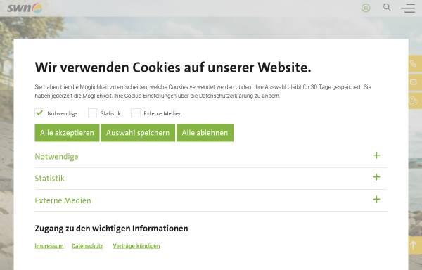 Vorschau von www.swn-neuwied.de, Stadtwerke Neuwied GmbH