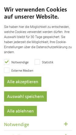 Vorschau der mobilen Webseite www.swn-neuwied.de, Stadtwerke Neuwied GmbH