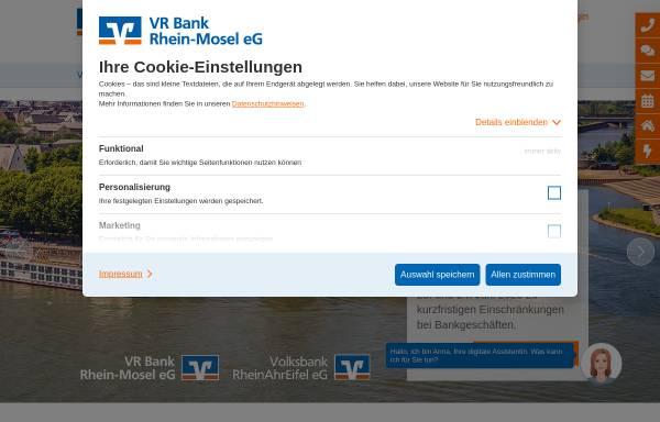 Vorschau von www.vrbn.de, Volks- und Raiffeisenbank Neuwied-Linz eG