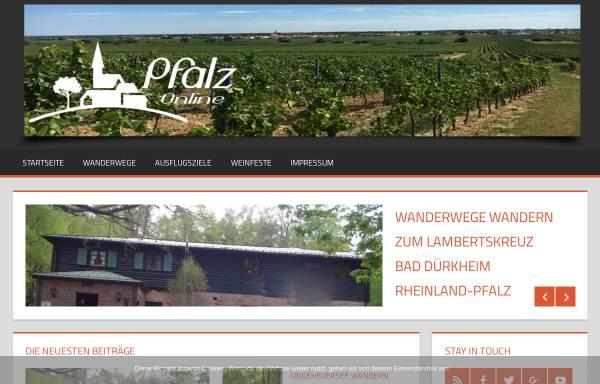 Vorschau von www.pfalzonline.de, Pfalzonline.de - Immobilien Portal für Rheinland-Pfalz