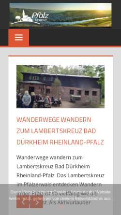 Vorschau der mobilen Webseite www.pfalzonline.de, Pfalzonline.de - Immobilien Portal für Rheinland-Pfalz