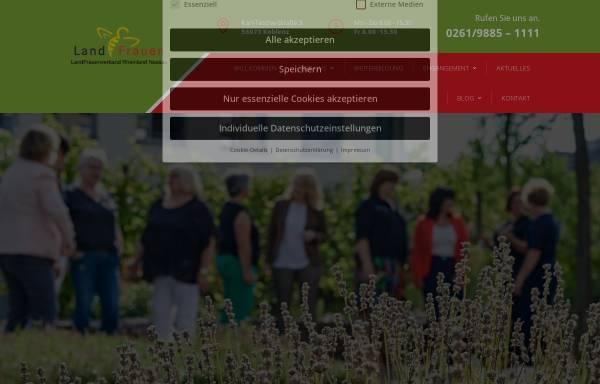 Vorschau von www.landfrauen-rheinland-nassau.de, Landfrauenverband Rheinland-Nassau