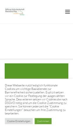 Vorschau der mobilen Webseite www.lwk-rlp.de, Landwirtschaftskammer Rheinland-Pfalz