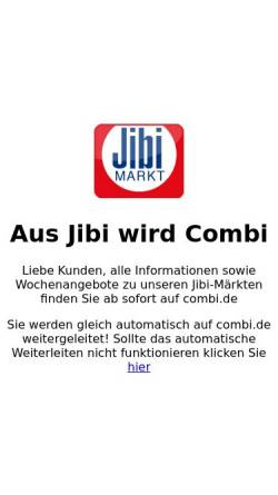 Vorschau der mobilen Webseite www.jibi.de, Jibi Handel GmbH & Co