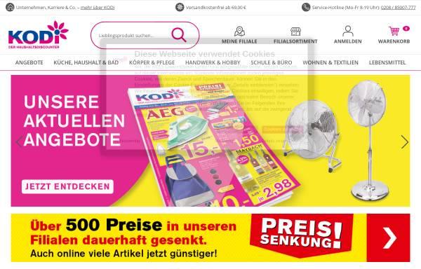 Vorschau von www.kodi.de, KODI - Diskontläden GmbH