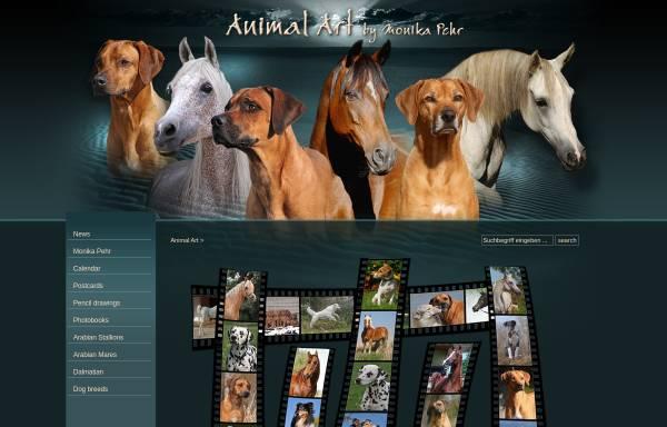 Vorschau von www.animal-art.org, Animal-Art by Monika Pehr