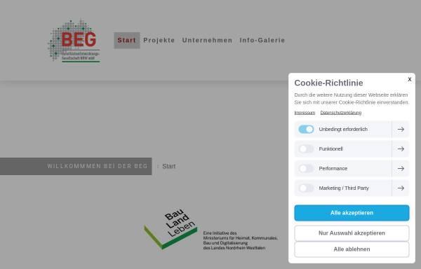 Vorschau von www.beg-nrw.de, BahnflächenEntwicklungsGesellschaft NRW mbH (BEG)