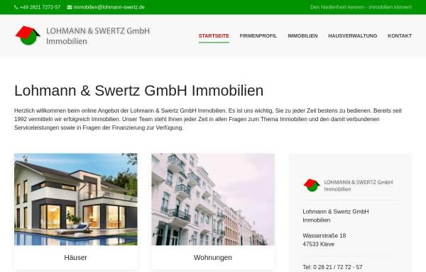 Vorschau von www.lohmann-immobilien.de, Lohmann Immobilien-Service GmbH