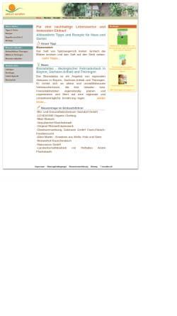 Vorschau der mobilen Webseite www.einfach-natuerlich.de, Einfach natürlich