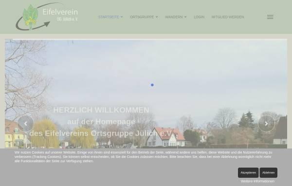 Vorschau von eifelverein-juelich.de, Eifelverein e.V.