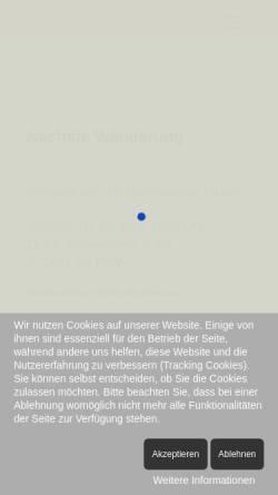 Vorschau der mobilen Webseite www.eifelverein-antweiler.de, Eifelverein, Ortsgruppe Antweiler e.V.