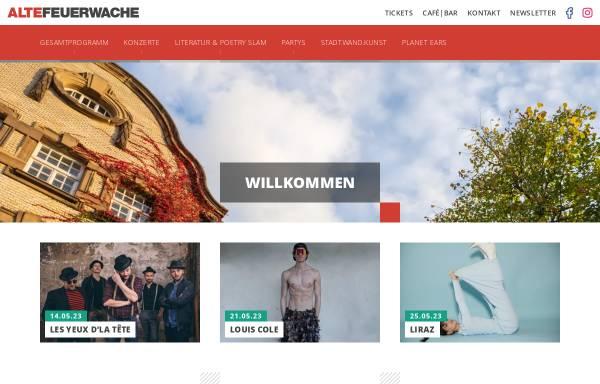 Vorschau von altefeuerwache.com, Kulturzentrum Alte Feuerwache