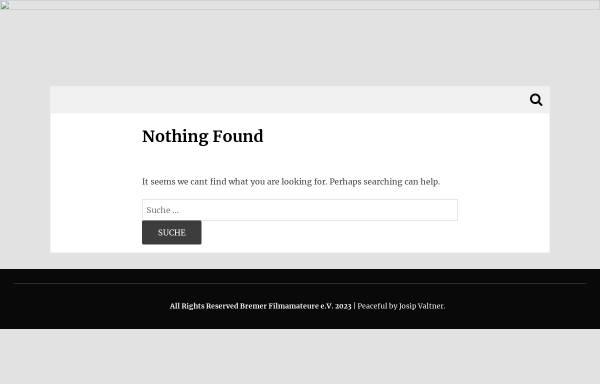 Vorschau von www.bremerfilmamateure.de, Bremer Film-Amateure e.V.