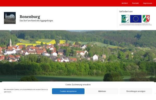 Vorschau von www.bonenburg.de, Bonenburg