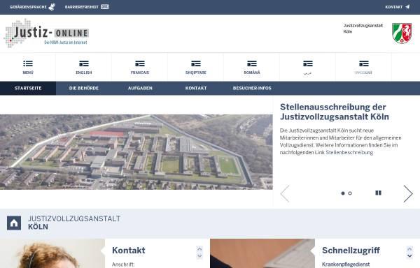 Vorschau von www.jva-koeln.nrw.de, Ossendorf